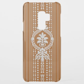 Flower with laurel wreath... uncommon samsung galaxy s9 plus case