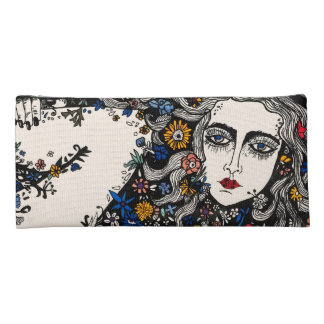 Flower Woman pencil case