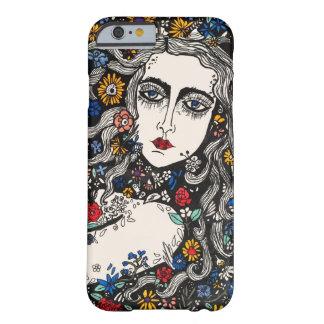 Flower woman phone case