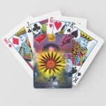 Flower World Bicycle Card Deck