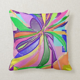 Flower Wrap Cushion pink