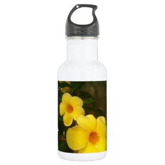 Flower Yellow Cocoa Beach 2014 jGibney The MUSEUM Water Bottle
