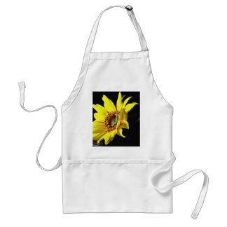 Flower Yellow Macro Photo Aprons