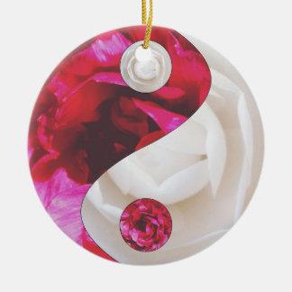 Flower Yin Yang Ornament