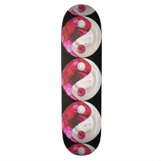 Flower Yin Yang Skateboard