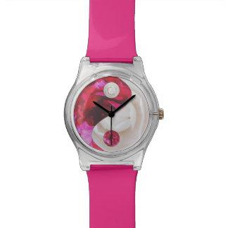 Flower Yin Yang Watch