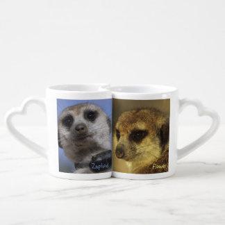 Flower & Zaphod Lovers' Mugs