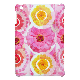Flower ZINNIA Collage - Enjoy n Share JOY Cover For The iPad Mini
