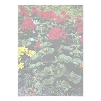 "Flowerbed 5"" X 7"" Invitation Card"