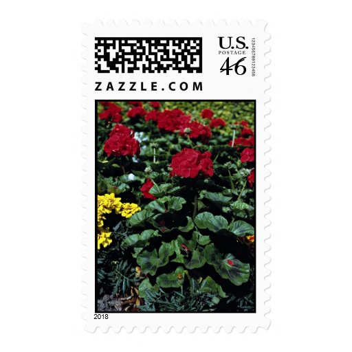 Flowerbed Stamps
