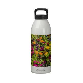 Flowerbed Reusable Water Bottle