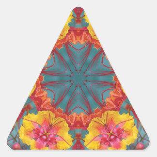 flowerberry V2 Triangle Sticker