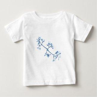 Flowerblue colección bebe playera para bebé