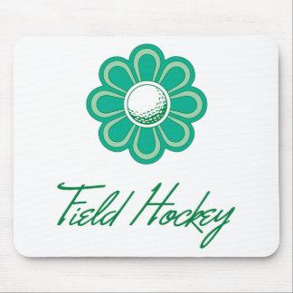 Flowerboom Field Hockey Mouse Pad