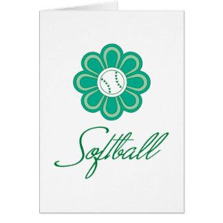 Flowerboom Softball Card