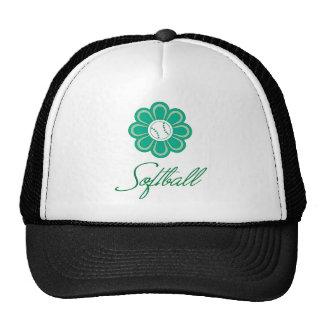 Flowerboom Softball Trucker Hats