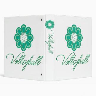 Flowerboom Volleyball Binder