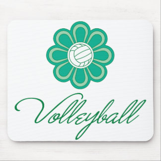 Flowerboom Volleyball Mouse Pad