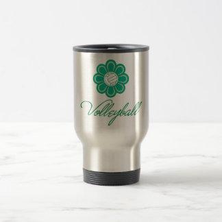 Flowerboom Volleyball Travel Mug