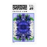flowerburst postage stamps