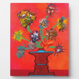 Flowerbursts Plaque