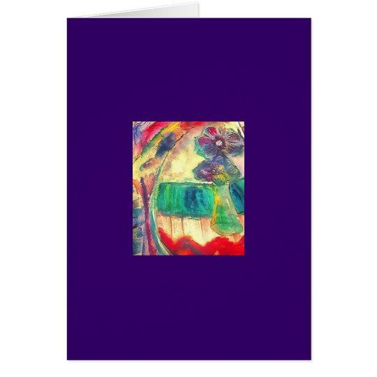 Flowercolor Card