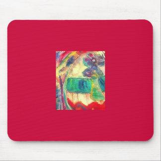 Flowercolor Mouse Pad