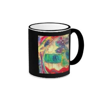 Flowercolor Ringer Mug