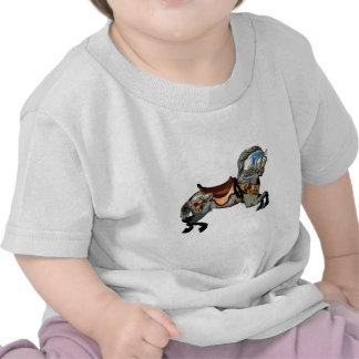 Flowered Carousel Horse gifts & greetings Tshirt