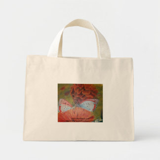 Flowered Eco Friendly Butterfly Tote