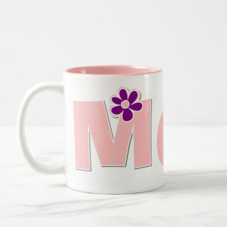 Flowered Mom Mug