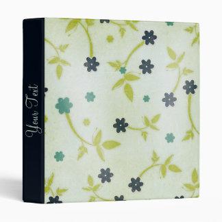 Flowered Multi Use binder