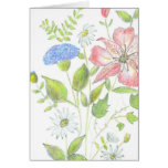 Flowered Note Card