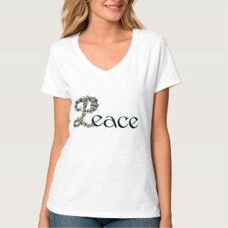 Flowered Peace T-Shirt