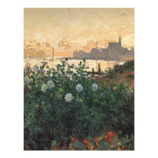 Flowered Riverbank Letterhead