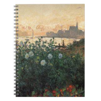 Flowered Riverbank Notebook