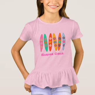 Flowered Surfboards T-Shirt