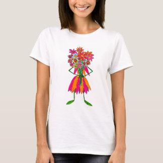 Flowered T Shirt