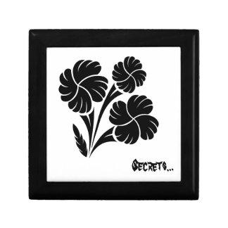 Flowered trio… jewelry box