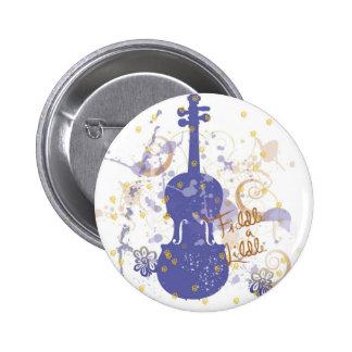 flowerfiddle 2 inch round button