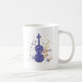 flowerfiddle coffee mug