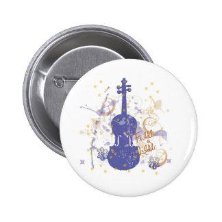 flowerfiddle pinback button