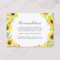 Flowerfields | Wedding Hotel Accommodation Cards