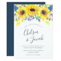 Flowerfields Wedding Invitation