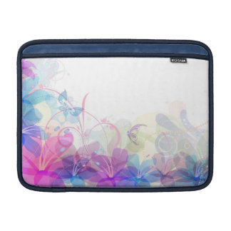 Flowerful Butterfly Abstract Laptop Sleeve-MacBook Sleeve For MacBook Air