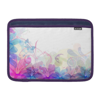 Flowerful Butterfly Abstract MacBook Air Sleeve