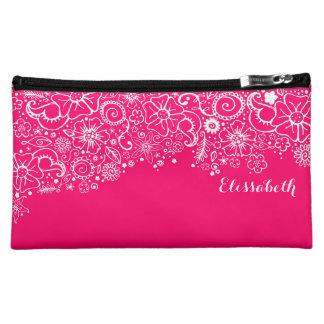 Flowerful Heart - Custom Name Mini Bag