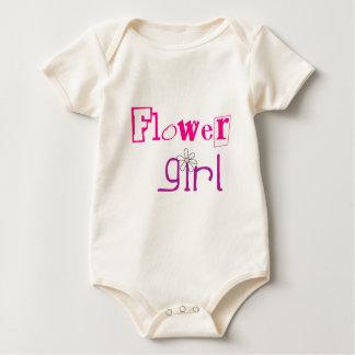 Flowergirl Baby clothes Baby Bodysuit