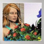 Flowergirl Impresiones