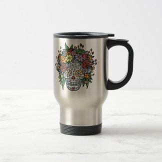 Flowerhair Sugar Skull Coffee Mug